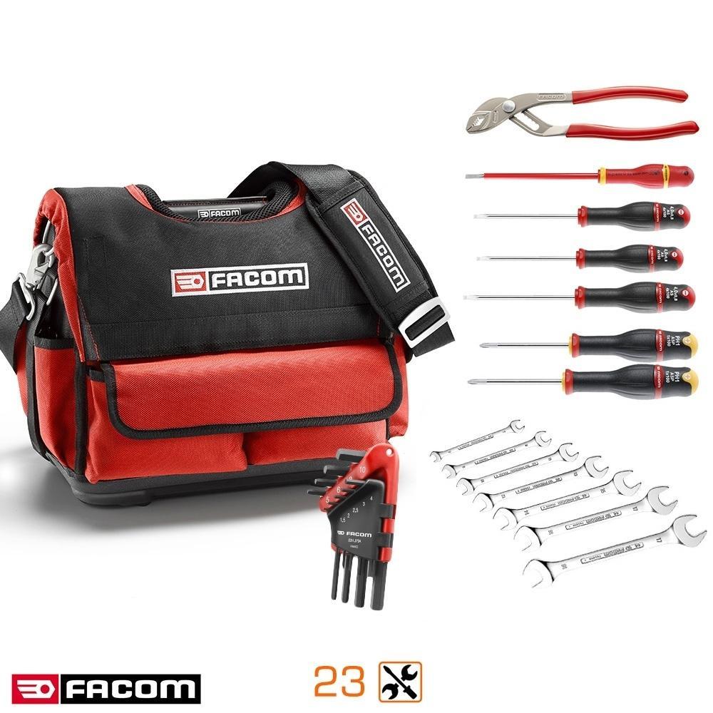Pack complet Probag Facom - 23 outils avec tournevis isolé et boîte textile