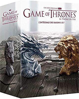 Coffret DVD HBO Game of Thrones (Le Trône de Fer) - L'intégrale des saisons 1 à 7