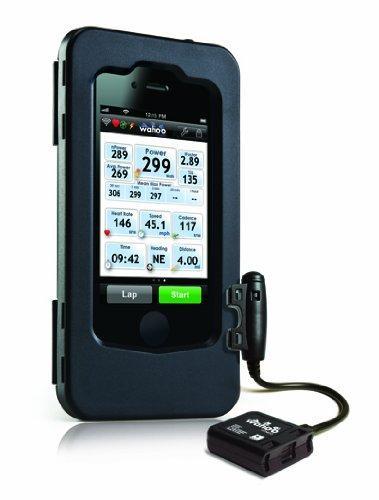 Wahoo Fitness Kit compteur vélo ANT+ Boîtier pour iPhone et capteur vitesse Noir