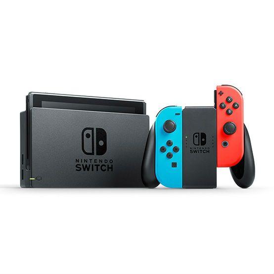 Console Nintendo Switch - Néon ou Gris + 30€ en SuperPoints (269.99€ avec le code RAKUTEN30) - Micromania
