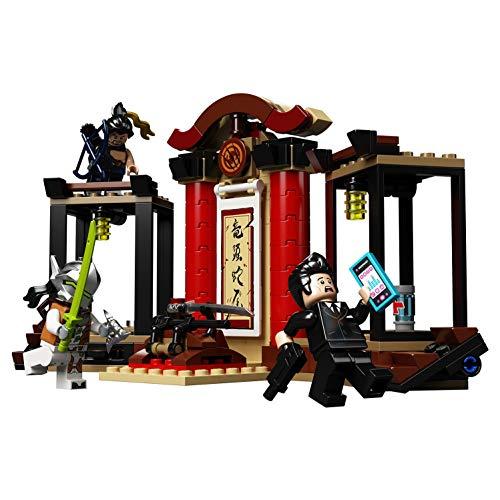 Jeu de construction Lego Overwatch: Hanzo vs. Genji (75971)