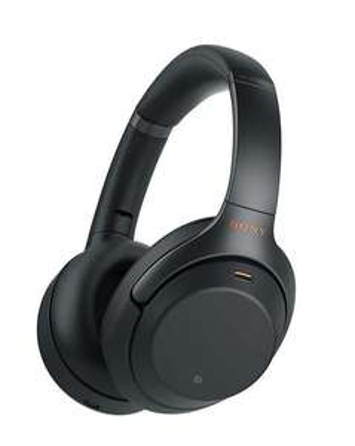 Casque Bluetooth à réduction de bruit Sony WH-1000XM3B