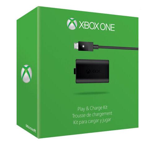 Accessoire Play & Charge Kit Xbox One (Nouveau Modèle)