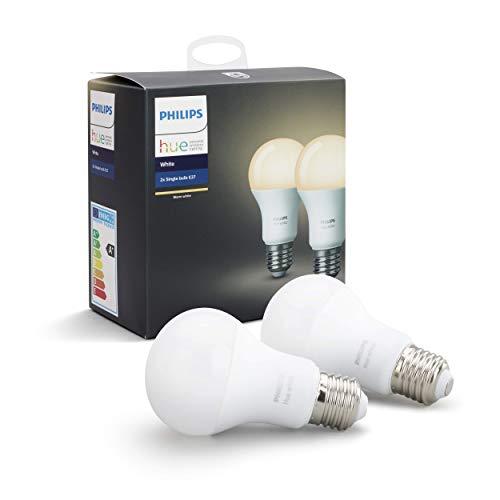 Lot de 2 Ampoules Connectées Philips Hue Blanc E27