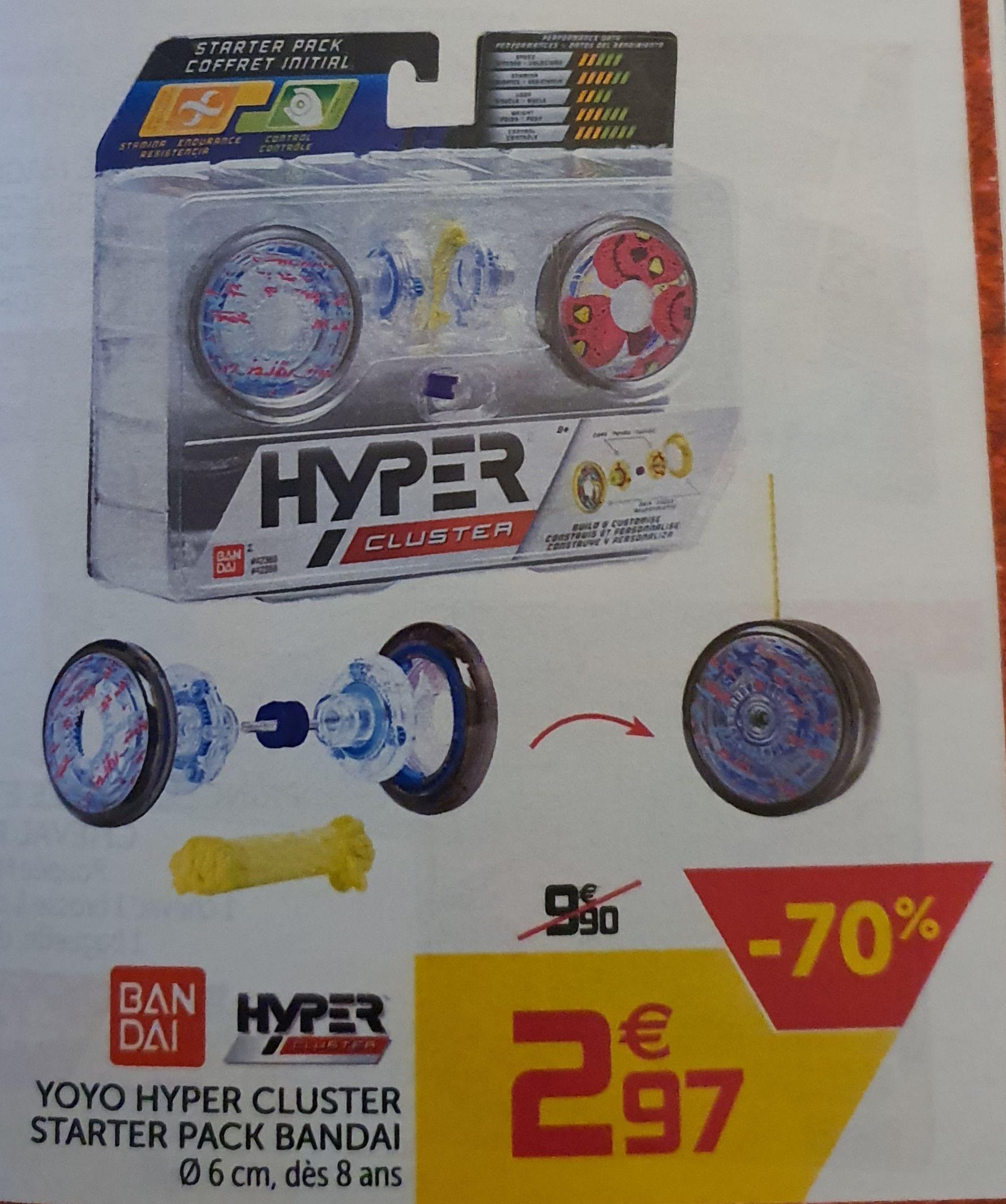 Pack Bandai Starter Pack Yoyo Hyper Cluster