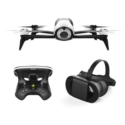 Pack FPV Drone Parrot Bebop 2 avec Skycontroller 2 + Cockpitglasses (+ 15 euros offerts pour les adhérents avec le code : NOEL)