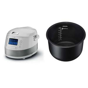 Multicuiseur Philips Viva Collection HD4731/77 + Cuve gril Avance Collection HD3757/77
