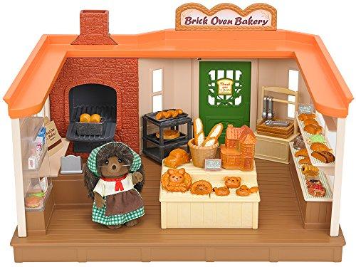 Boulangerie Sylvanian Families avec un personnage Hérisson