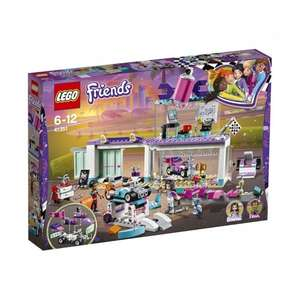 Jouet Lego Friends L'atelier de customisation de kart - 41351