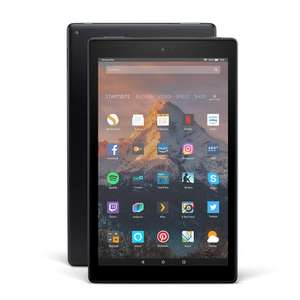 "Tablette tactile 10.1"" Amazon Fire HD 10 (2017) - full HD, MediaTek MT8173, 2 Go de RAM, 32 Go, noir"