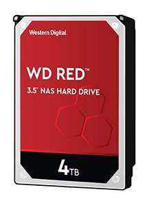 """Disque dur pour NAS 3.5"""" Western Digital WD RED IntelliPower - 4 To"""