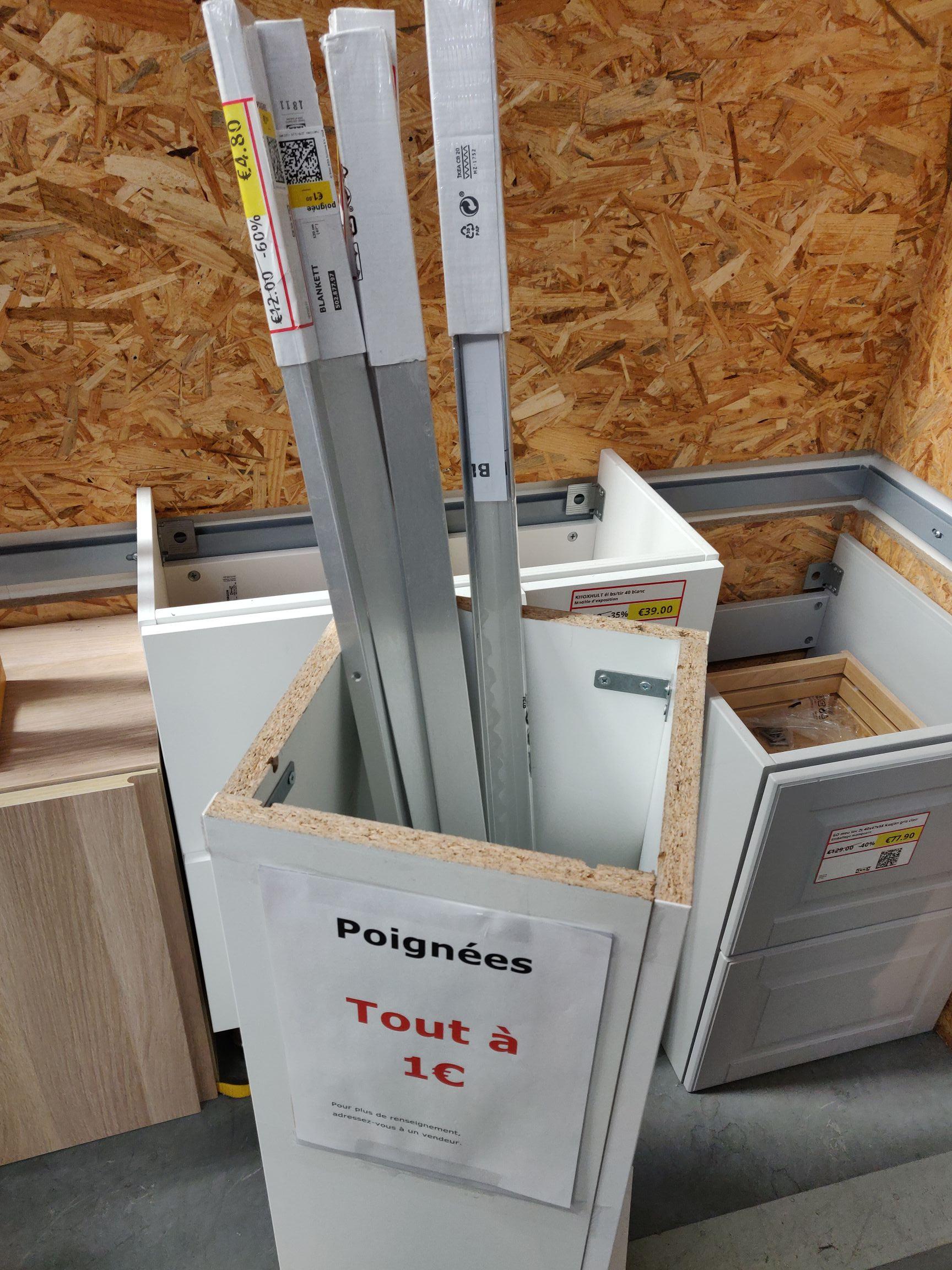 Poignée en aluminium Blankett - Orléans-Ardon (45)