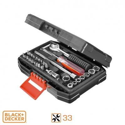 Coffret Black+Decker - Maintenance Auto 33 pièces