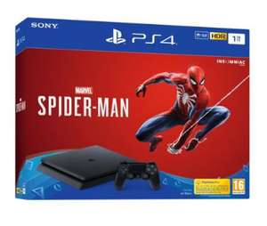 Console Sony PS4 Slim 1 To + Marvel's Spider-Man