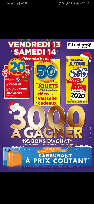 50% remboursés sur le carte fidélité sur une sélection de Jouets- Cherré Val d'Huisne (72)