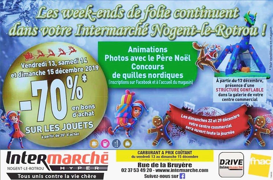 70% remboursés en bon d'achat dès 35€ d'achat sur le rayon Jouets - Nogent-le-Rotrou (28)