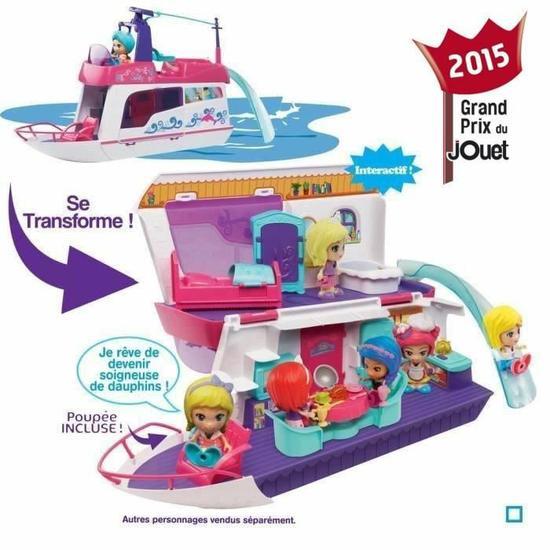 Jouet Vtech Flipsies Yacht De Luxe/Villa De Reve + 1 jouet Flipsies au choix + 2 kg de pâte Play-Doh