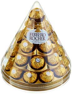 Lot de 2 Cônes de 28 chocolats Ferrero Rocher