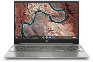 "PC portable 15.6"" full HD HP Chromebook 15-de0996nf - Pentium Gold 4415U, 4 Go de RAM, 64 Go en eMMC, Chrome OS"