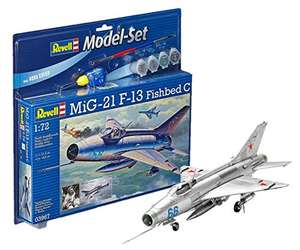 Maquette Revell Mig-21 F-13 Fishbed C (63967)