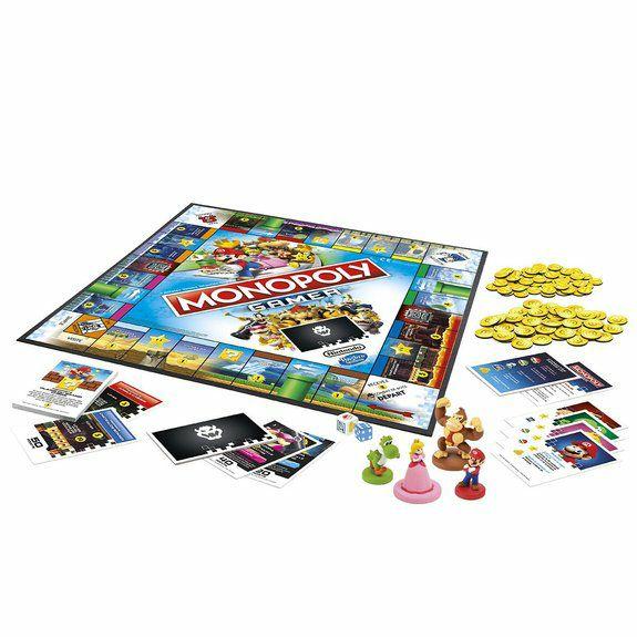 Jeu de société Monopoly Nintendo Gamer Mario