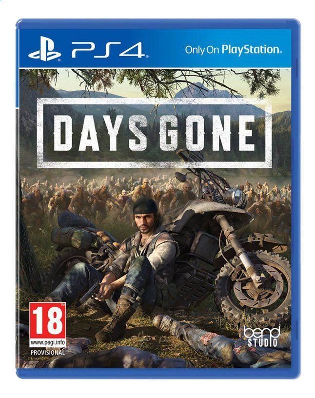 Days Gone sur PS4 (Frontaliers Belgique)