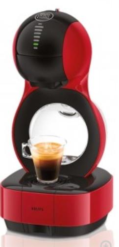 Machine à café automatique Krups Nescafe Dolce Gusto Lumio + 6 Boîtes de Café