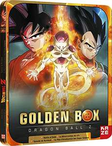 Blu-ray : Dragon Ball Z-Golden Box - Steelbook