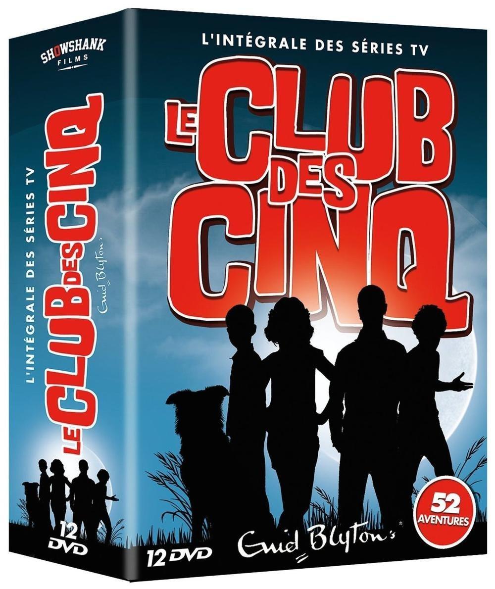 Coffret DVD Intégral Le Club des Cinq