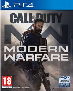 Jeu Call of Duty: Modern Warfare sur PS4
