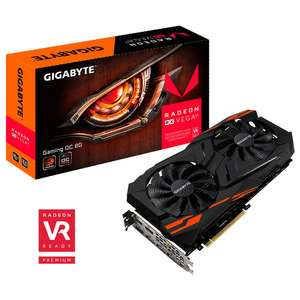 Carte Graphique Gigabyte Radeon RX Vega 64 Gaming OC 8Go HBM2 + Abonnement Xbox Game Pass 3 Mois