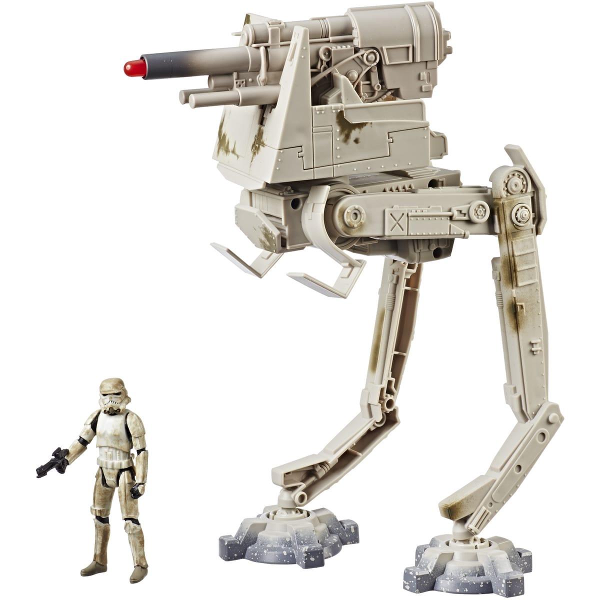 Figurines Hasbro Star Wars Stormtrooper + Marcheur impérial