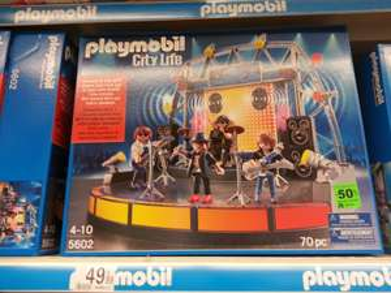Playmobil City Life Concert de rock - 5602 (-50%)