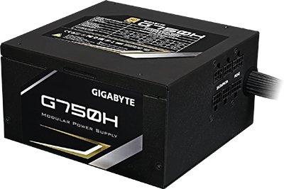 Alimentation PC Semi-modulaire Gigabyte GP-G750H Gold - 750W