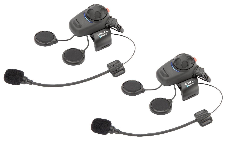 Ecouteurs et Intercom Bluetooth Duo Moto Sena SMH5D-01 pour Motards