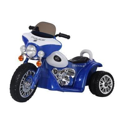 Mini Moto électrique pour enfant modèle chopper police - 6V, 3 km/h (vendeur tiers)
