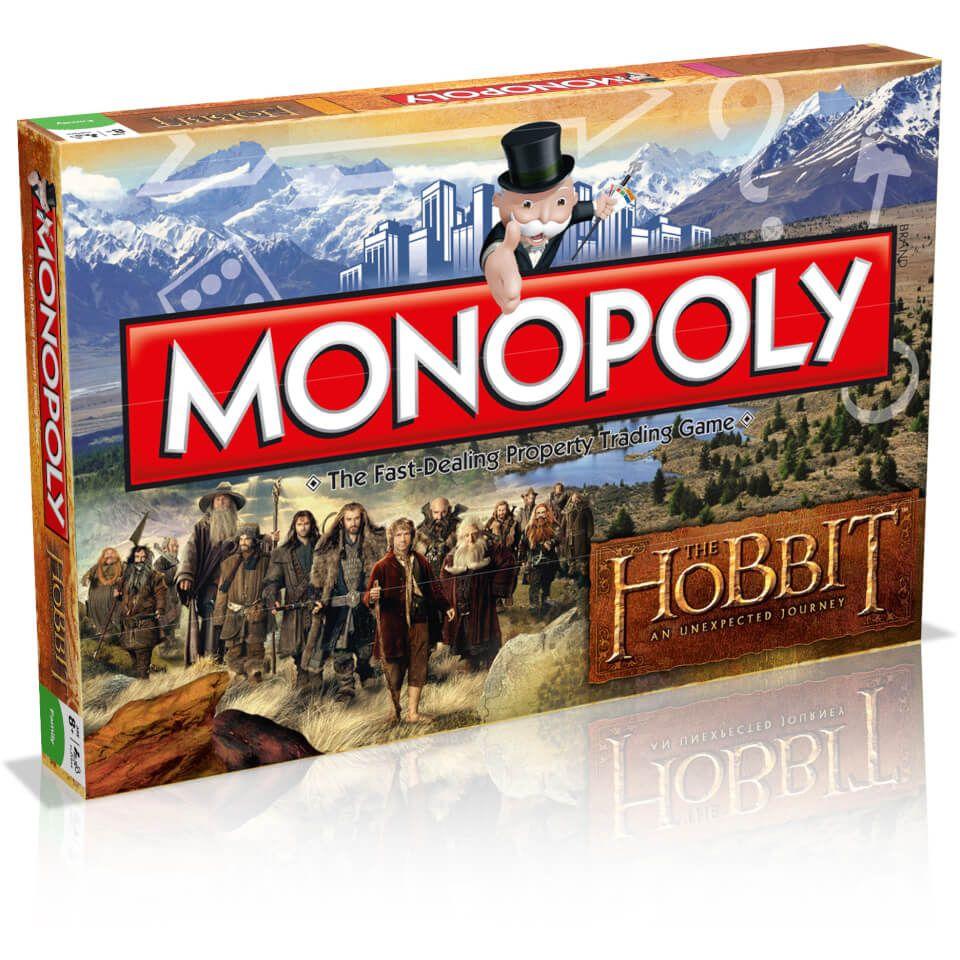 Jeu de société Monopoly Le Hobbit - Un Voyage Inattendu