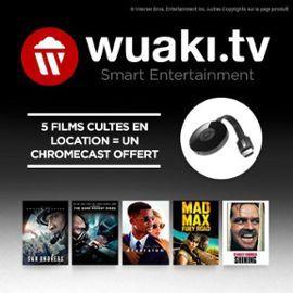 Clé HDMI Chromecast 2 + 5 films en VOD