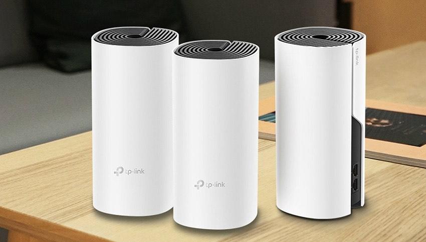 Système WiFi Mesh TP-Link Deco E4 - 3 Packs, Couverture WiFi de 370m2