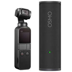 Caméra Stabilisée Dji Osmo Pocket + Charging Case (Frontaliers Suisse)