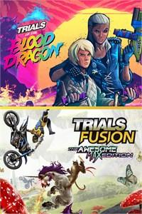 [Gold] Trials Fusion Awesome Max Edition + Trials of the Blood Dragon sur Xbox One (Dématérialisé - Store République Tchèque)