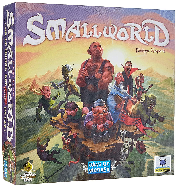 Sélection de jeu de société en promotion - Ex: Smallworld Asmodee SW01
