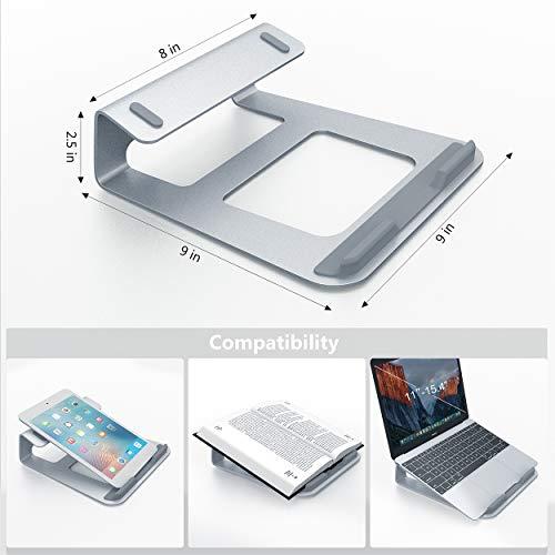 """Support pour PC portable de 11"""" à 15.4"""" en aluminium (vendeur tiers)"""