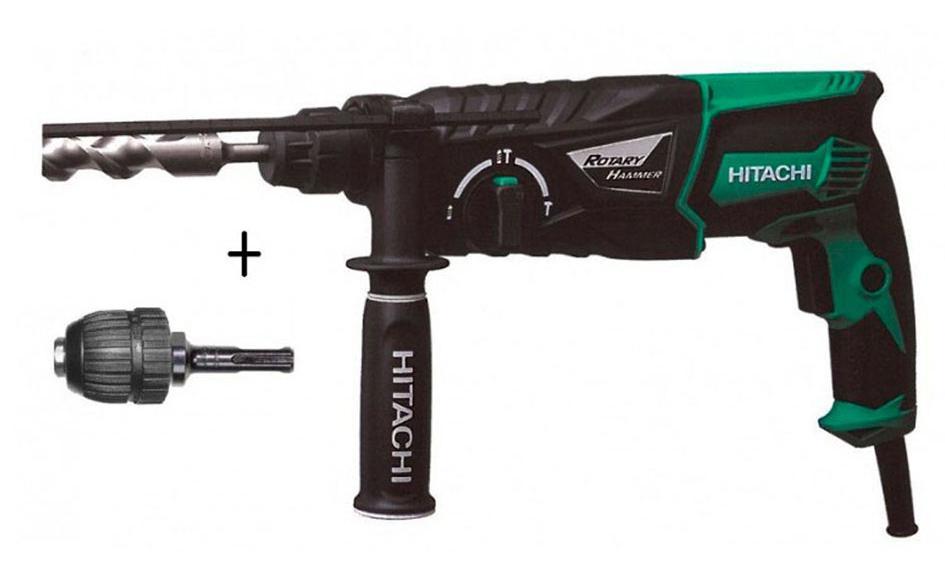 Perforateur-burineur Hitachi 830 W 3,2 joules