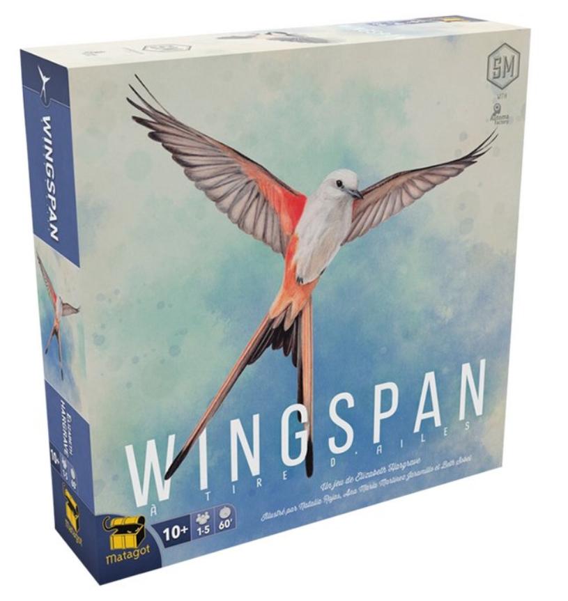 25% de réduction sur tous les jeux de société - Ex : Jeu Wingspan (Frontaliers Belgique)