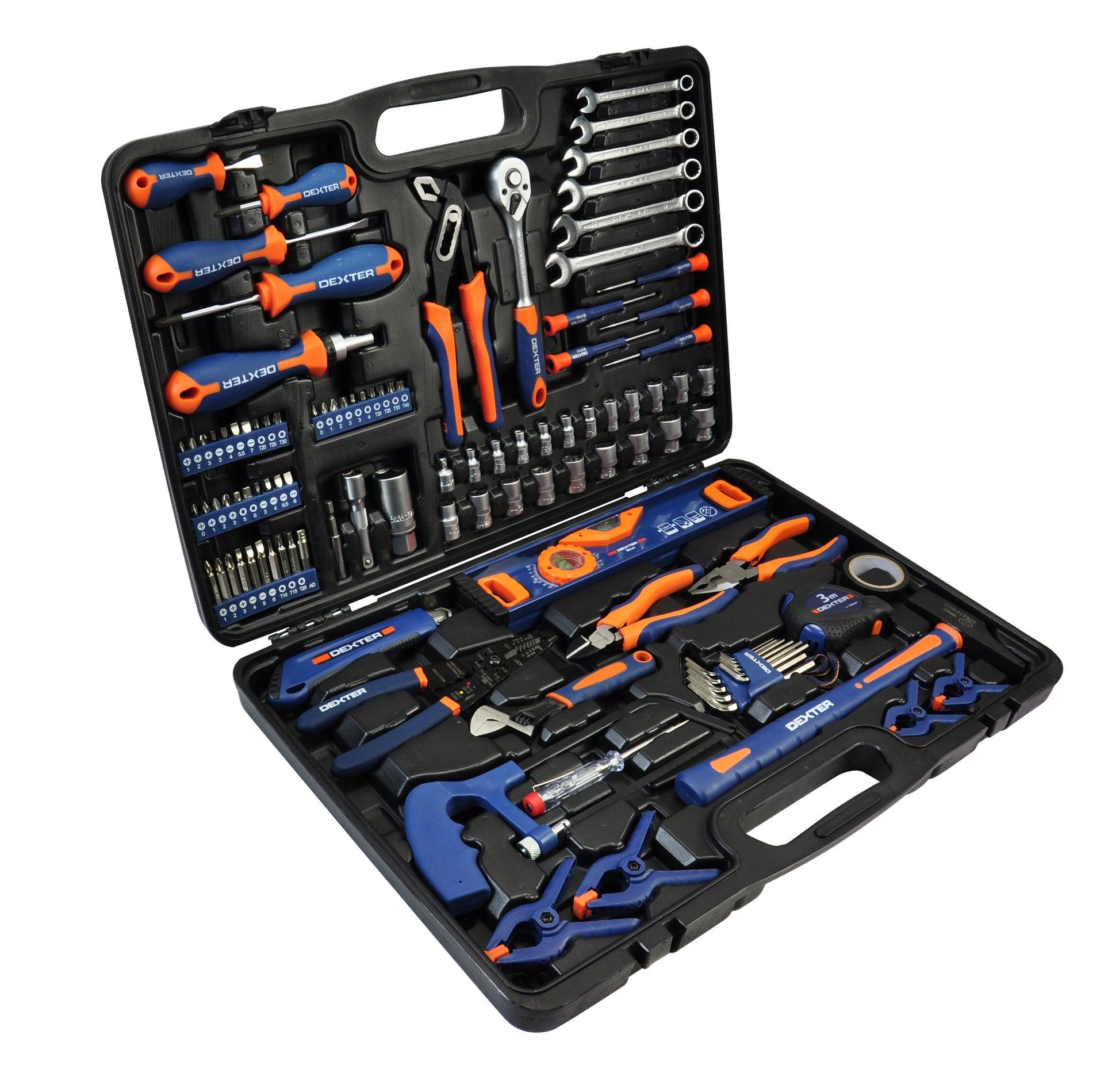Mallette à outils Dexter - 108 pièces