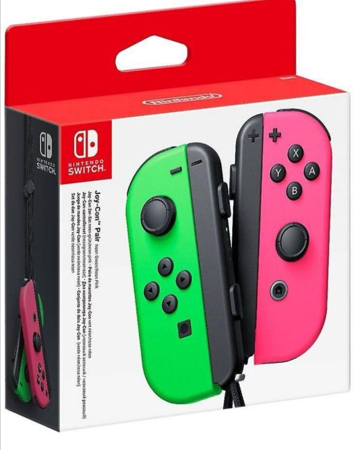 Manette Joy-Con Nintendo Switch - Vert Rose ou Jaune (54.95€ avec le code 10D60)