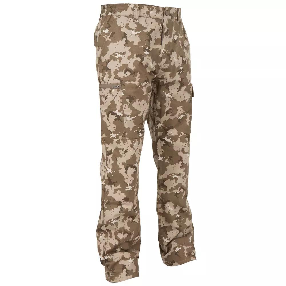 Pantalon de chasse Solognac Steppe 300 Island Beige