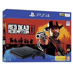 Pack Console Sony PS4 Slim - 1 To + Red Dead Redemption 2 + Fallout 76