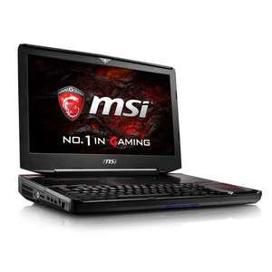 "PC Portable 18.4"" MSI GT83 8RG-028FR Titan - Full HD, i7-8850H, RAM 32 Go, HDD 1 To + SSD 2 x 512 Go, 2 x GeForce GTX 1080 SLI 8 Go, W10"